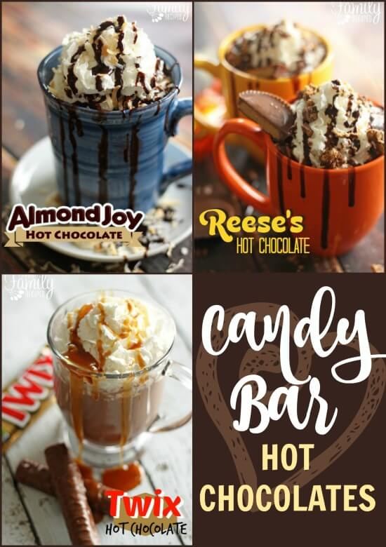 Candy Bar Hot Chocolate