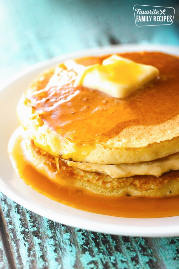orange creamsicle pancakes and