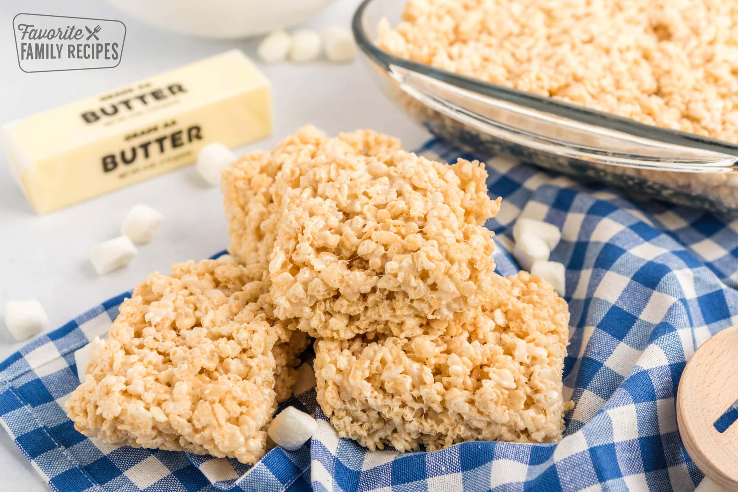 https www favfamilyrecipes com microwave rice krispie treats