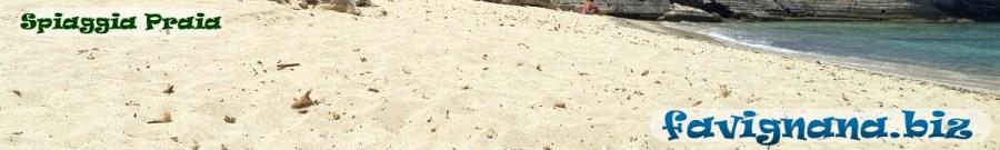 Spiaggia Praia Favignana