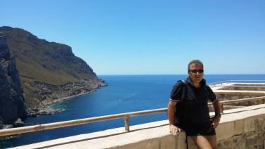 Panorama dalla terrazza del castello di Punta Troia