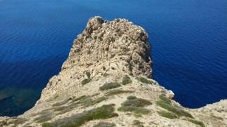 Castello di Punta Troia Resti della chiesetta