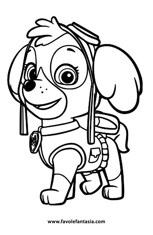 Paw patrol es un programa de televisión animado. Paw Patrol da colorare | Favole e Fantasia