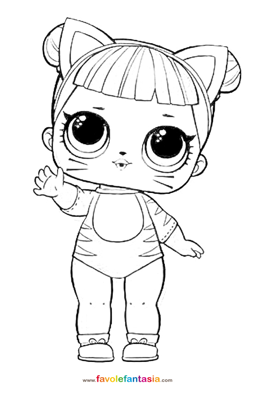 Lol Dolls Coloring Pages Coloring Pages