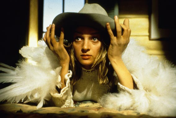 COWGIRL THE NEW SEX (1993) by Gus Van Sant Uma Thurman © Photomovie Collection