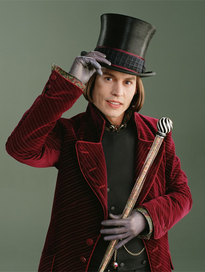Johnny Depp cilindro nero