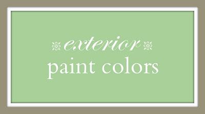 Mom's Paint Colors