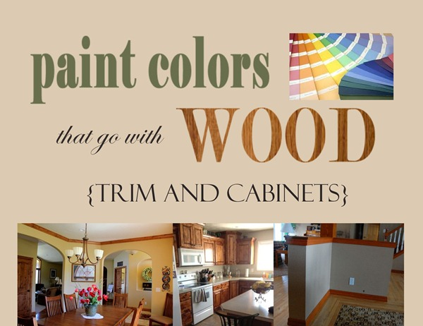 unpainted kitchen cabinets walnut paint colors that go with wood {trim and cabinets} + my ...