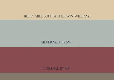 Paint Color Combination for Believable Buff {What Color to Paint Your Powder Room}