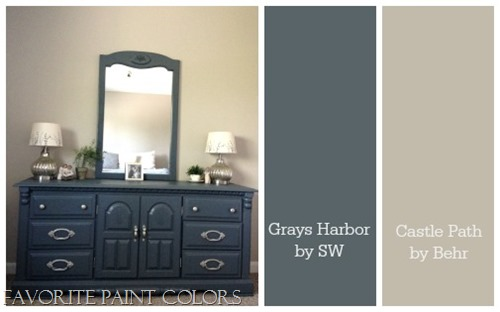 color combination for master bedroom