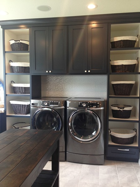 cabinet paint color for laundry room