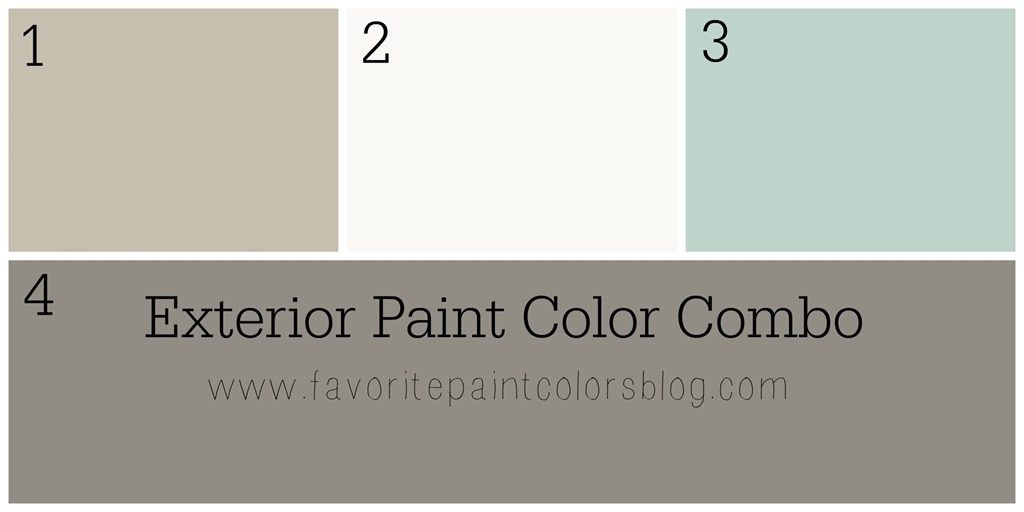 Exterior Paint Color Combinations What Color to Paint the