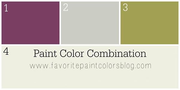 Paint color combo