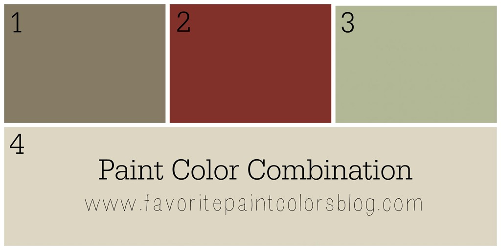 color combinations favorite paint colors blog. Black Bedroom Furniture Sets. Home Design Ideas
