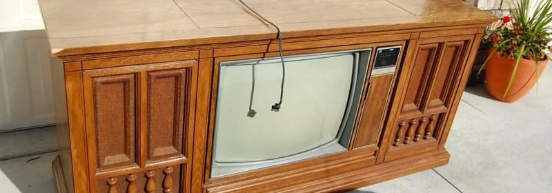 1960s TV Console Makeover
