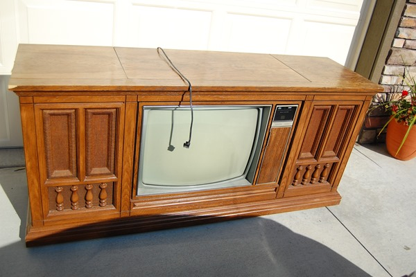 TV Console BEFORE