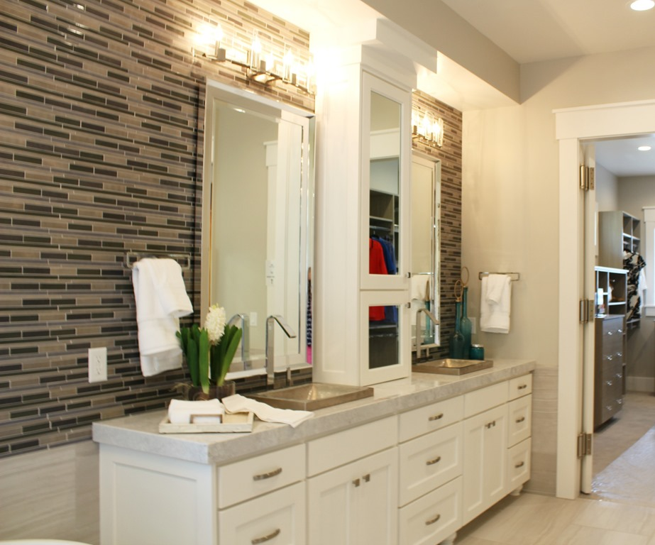 Agreeable Gray Bathroom The Image Kid