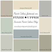 Farmhouse Paint Color Palettes