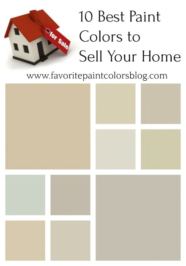 Best colours to paint your house to sell living room for Best color to paint walls when selling a house