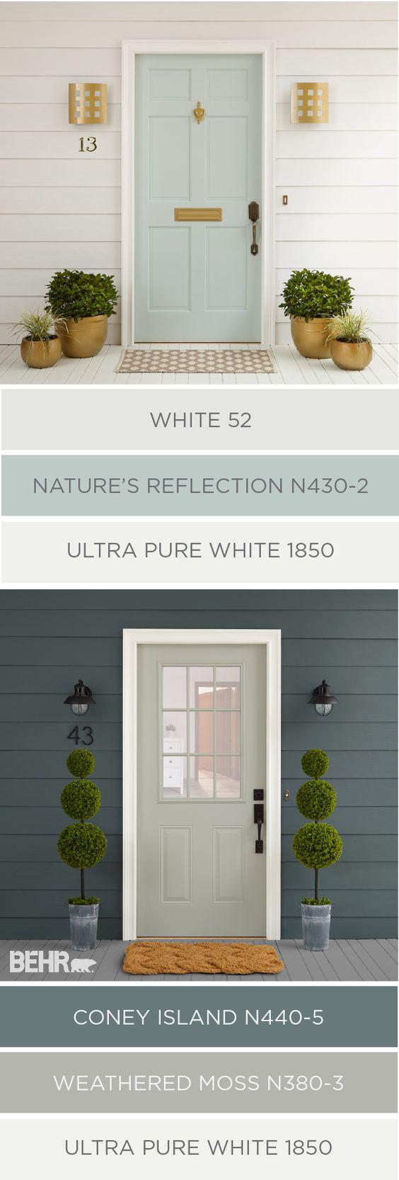 Exterior Color Palette By Behr Favorite Paint Colors Blog