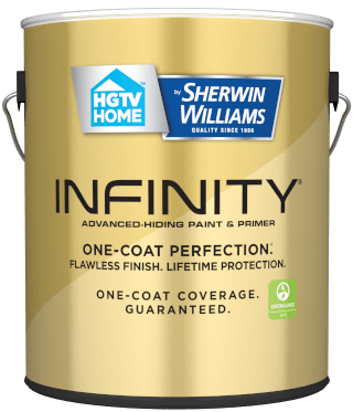 Sherwin-Williams Infinity - the best paint at Lowe's