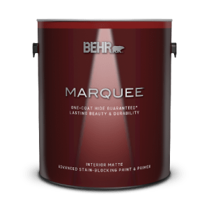 Behr Marquee - the best paint for bathrooms