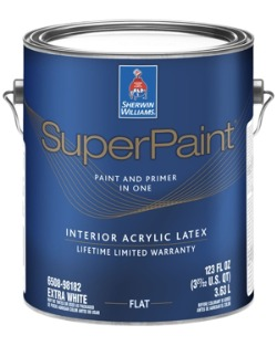 Sherwin-Williams Super Paint - the best paint for bathrooms