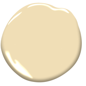Golden Straw by Benjamin Moore - 2020 Color Trends