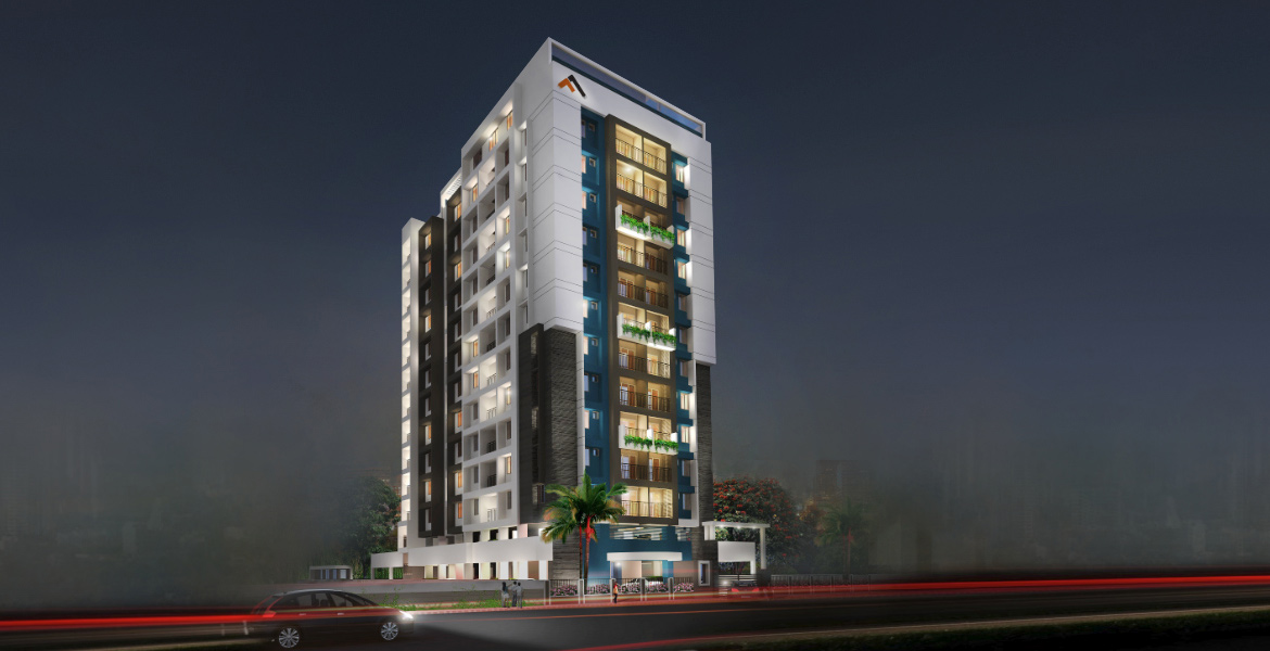 2 & 3 BHK Luxury Flats in Trivandrum | The Carmel Heights