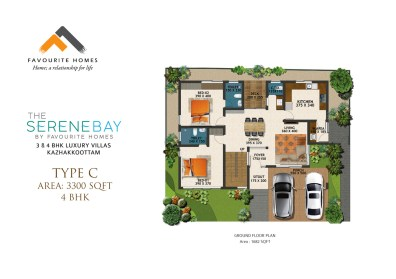 The Serene Bay by Favourite Homes Floor Plan