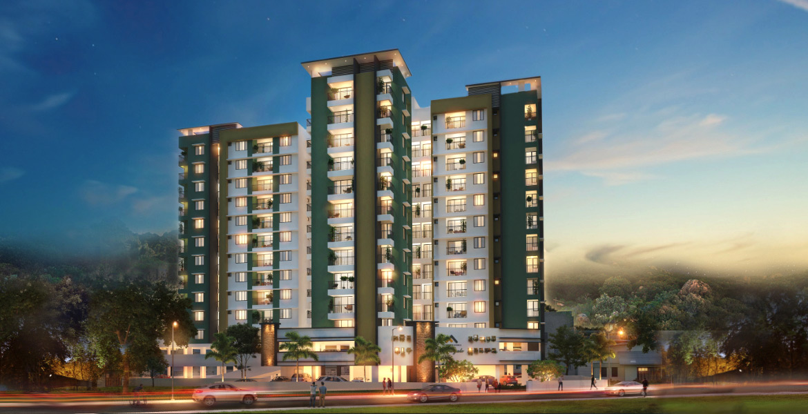 Luxury Apartment in Palayam | Le Royale