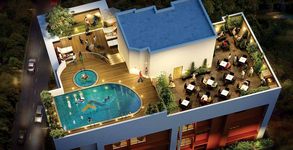 Luxury Apartments in Ambalamukku - The Town Square