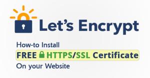 Cara Install SSL Gratis Let's Encrypt