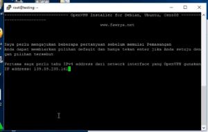 Cara Setting dan Aktifkan Openvpn