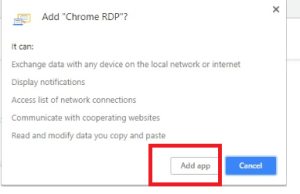 Cara Login Remote Desktop RDP VPS di Google Chrome