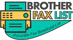 BROTHER FAX LIST LOGO