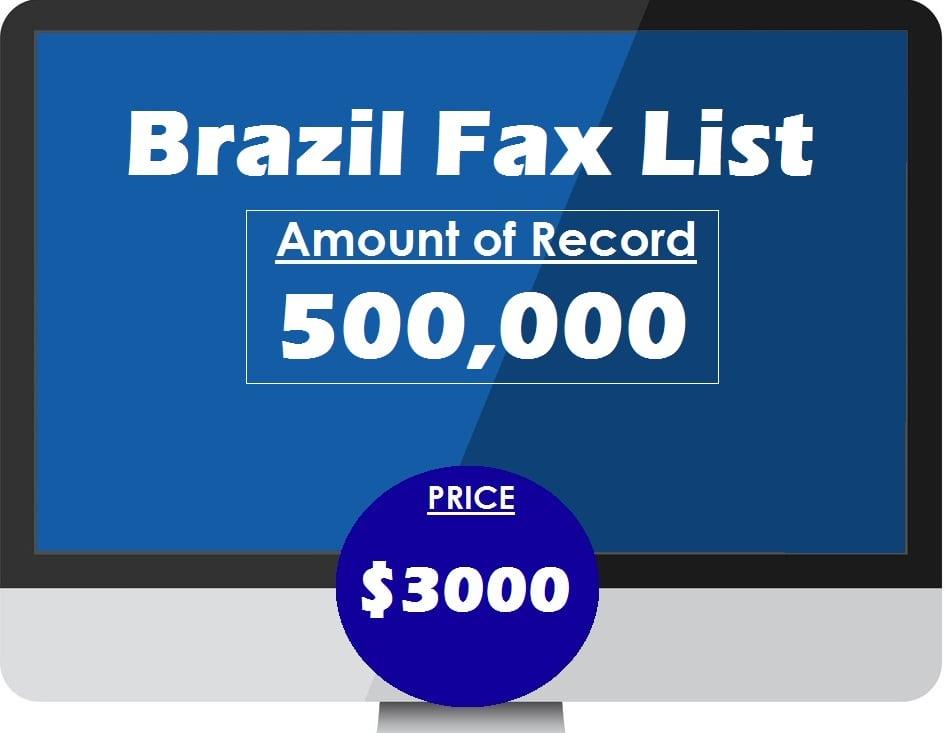 Buy Brazil Fax List