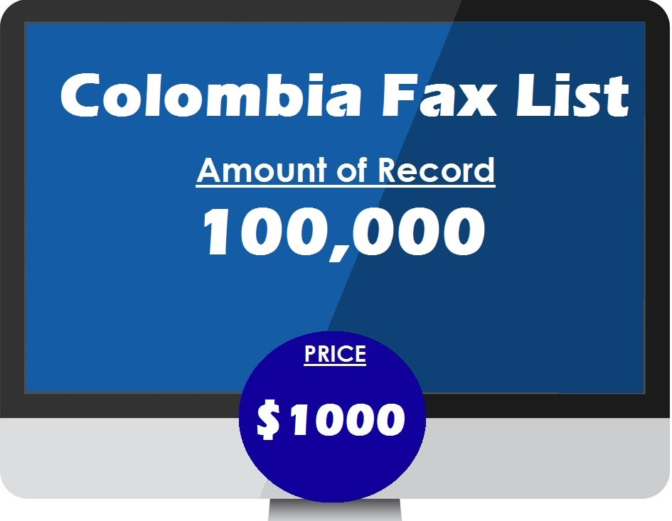 Buy Colombia Fax List