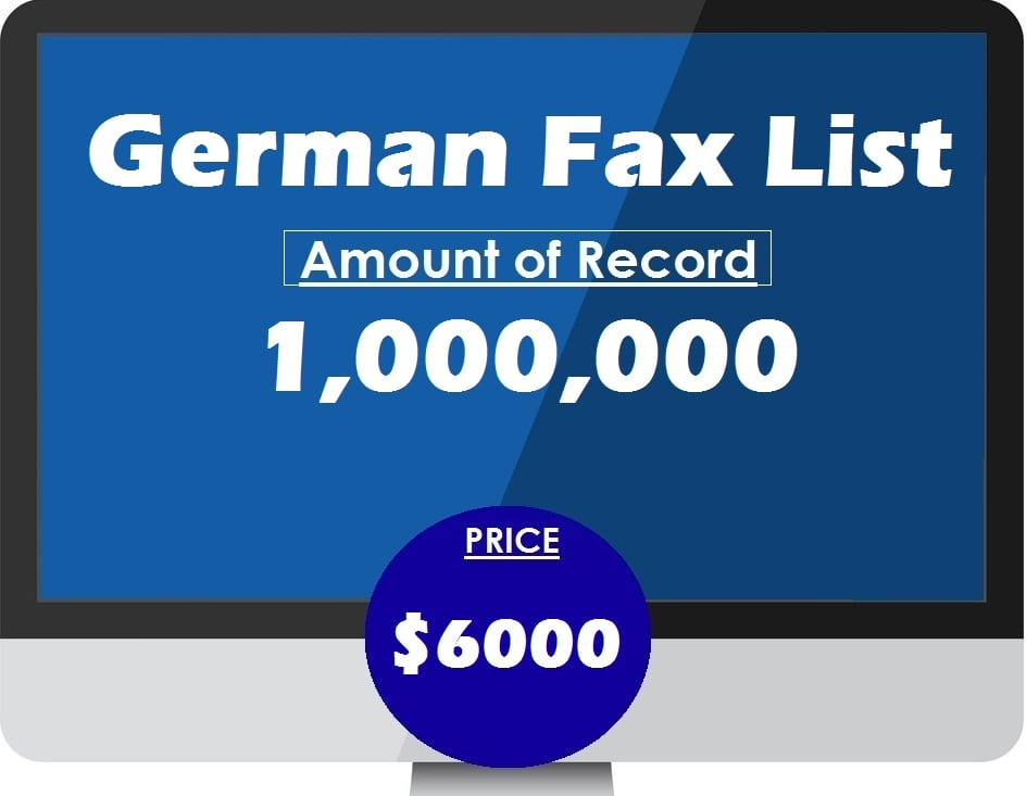 Buy German Fax List