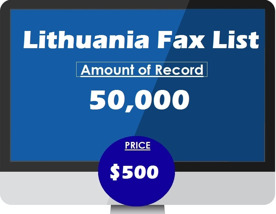 Buy Lithuania Fax List