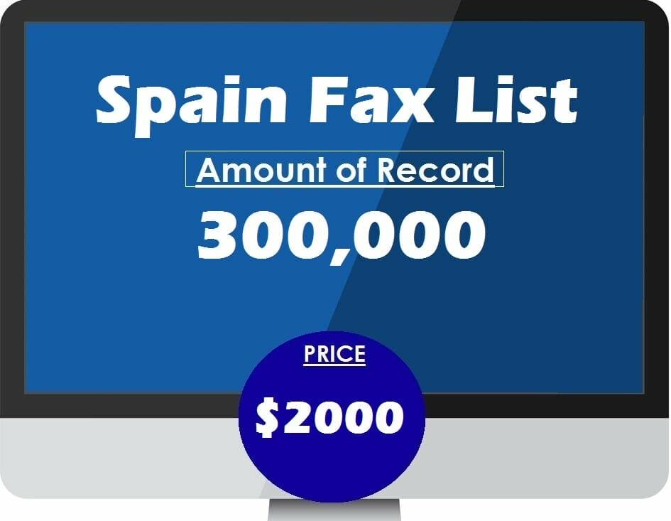 Buy Spain Fax List