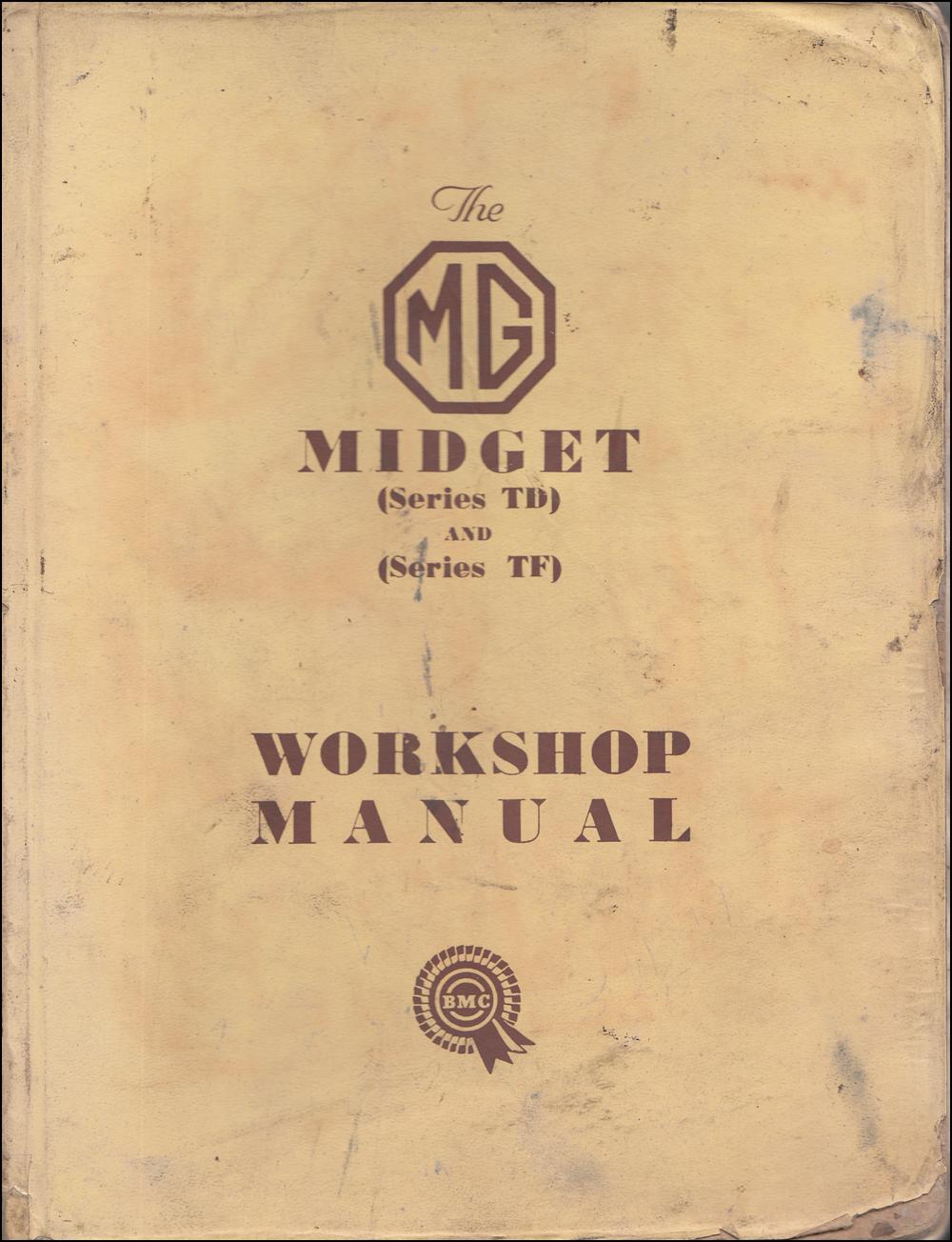 hight resolution of 1955 mg wiring diagram wiring diagram1950 1955 mg midget td and tf repair shop manual original