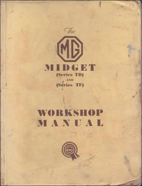 small resolution of 1955 mg wiring diagram wiring diagram1950 1955 mg midget td and tf repair shop manual original
