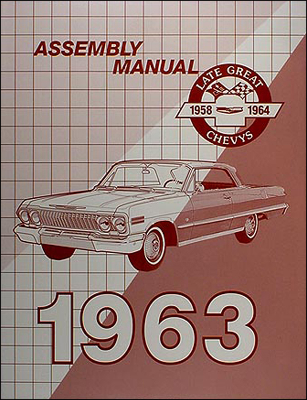 medium resolution of 1963 chevrolet assembly manual reprint biscayne bel air impala ss1963 chevy wiring diagram manual reprint