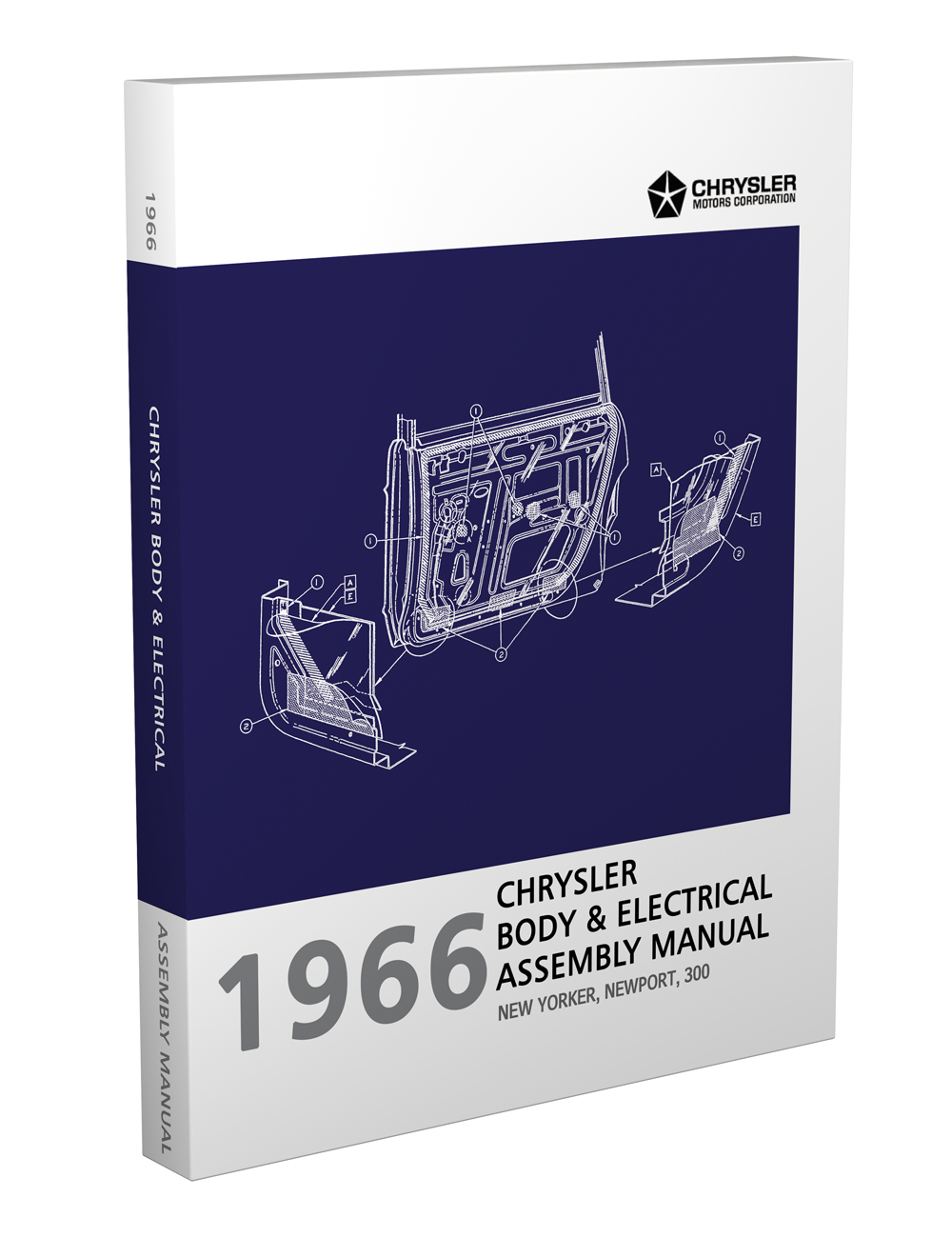 hight resolution of 1966 chrysler body electrical assembly manual reprint