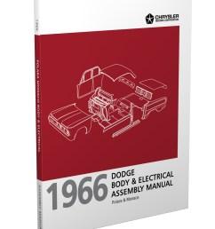 1966 dodge polara and monaco body electrical assembly manual reprint [ 1000 x 1300 Pixel ]