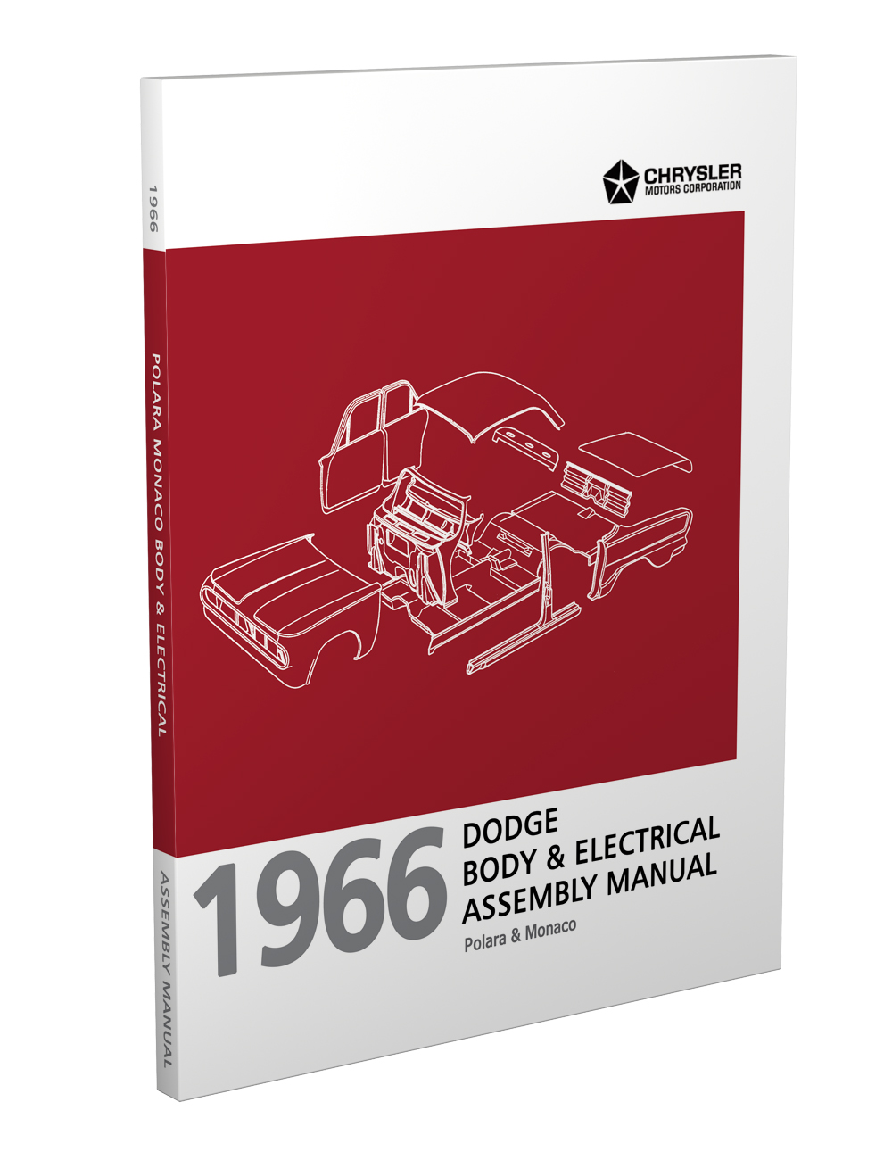 hight resolution of 1966 dodge polara and monaco body electrical assembly manual reprint