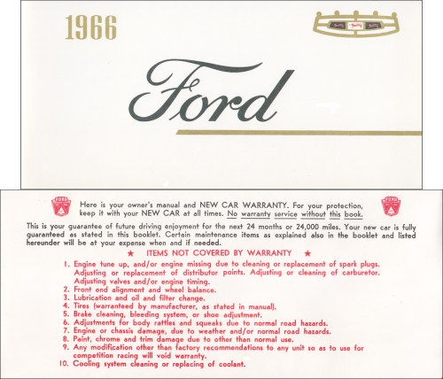 small resolution of 1966 ford galaxie and ltd owner s manual reprint