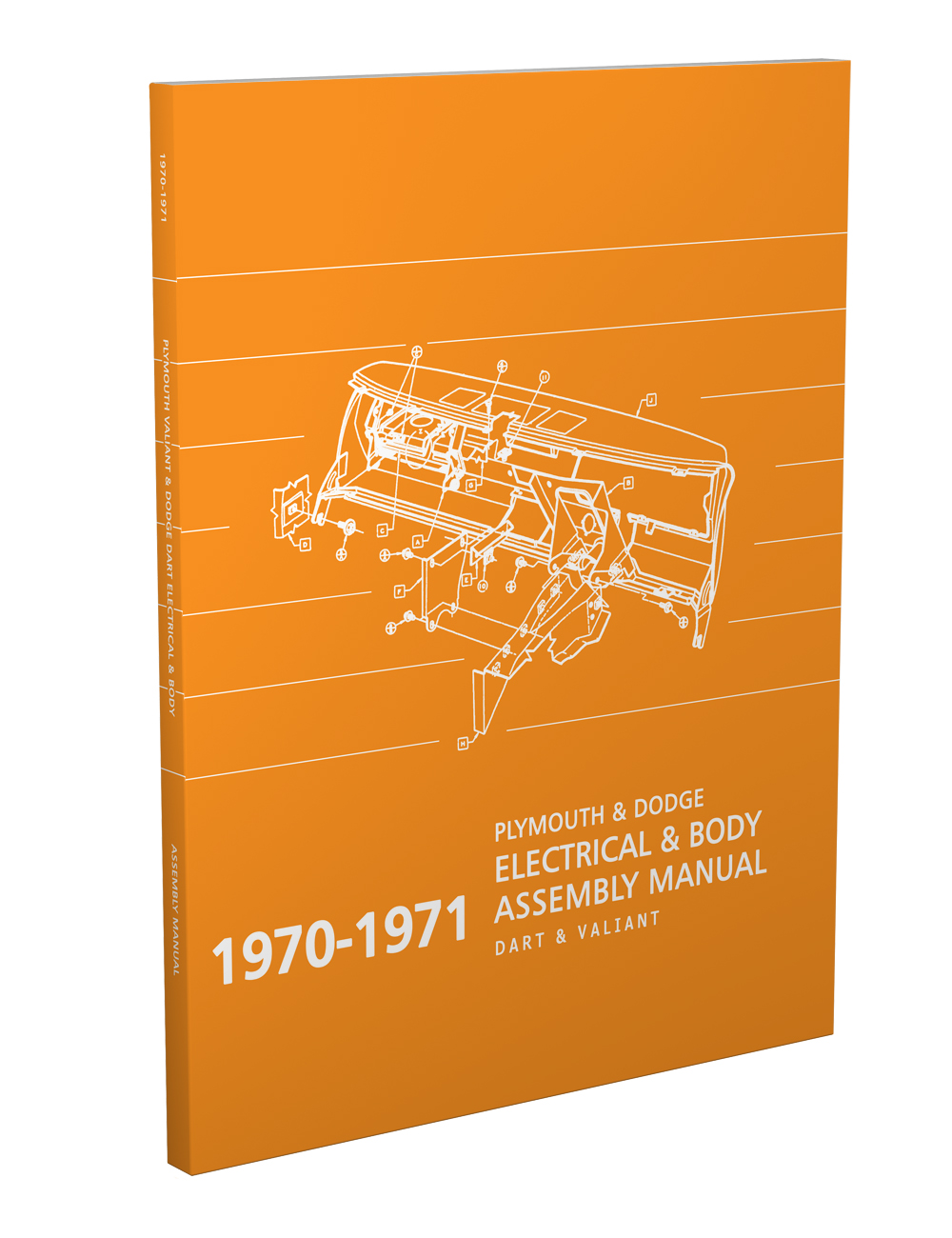 hight resolution of 1970 1971 dart and valiant electrical and body assembly manual reprint