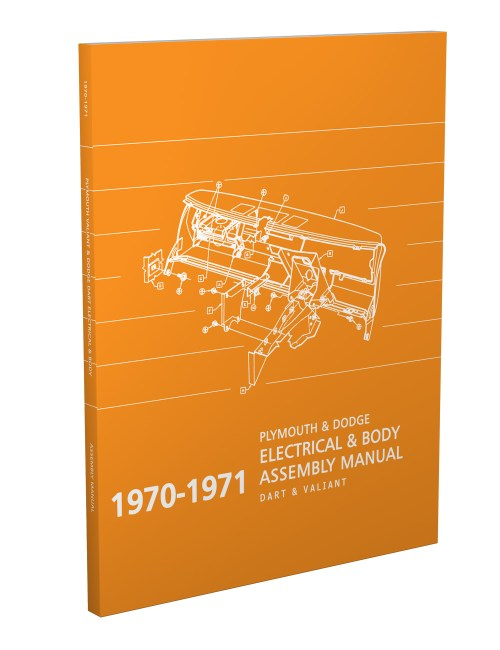 small resolution of 1970 1971 dart and valiant electrical and body assembly manual reprint